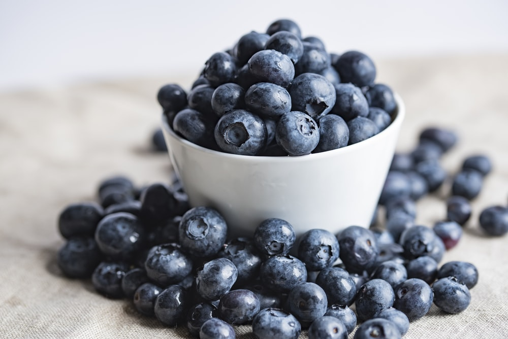 beautiful blueberries