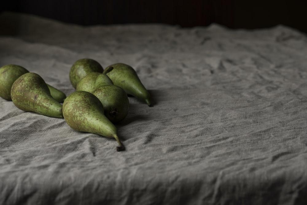 green Avocado fruits