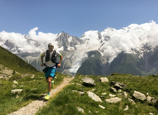 trail running in France