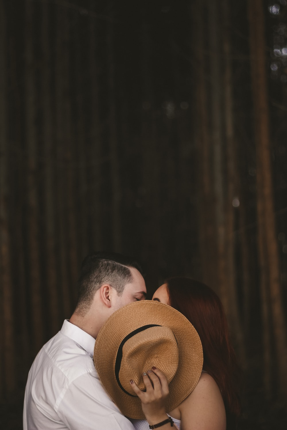 shallow focus photography of man and woman