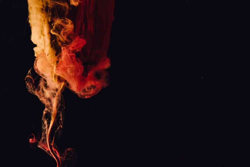 Flame With Black Background Pictures Download Free Images On Unsplash