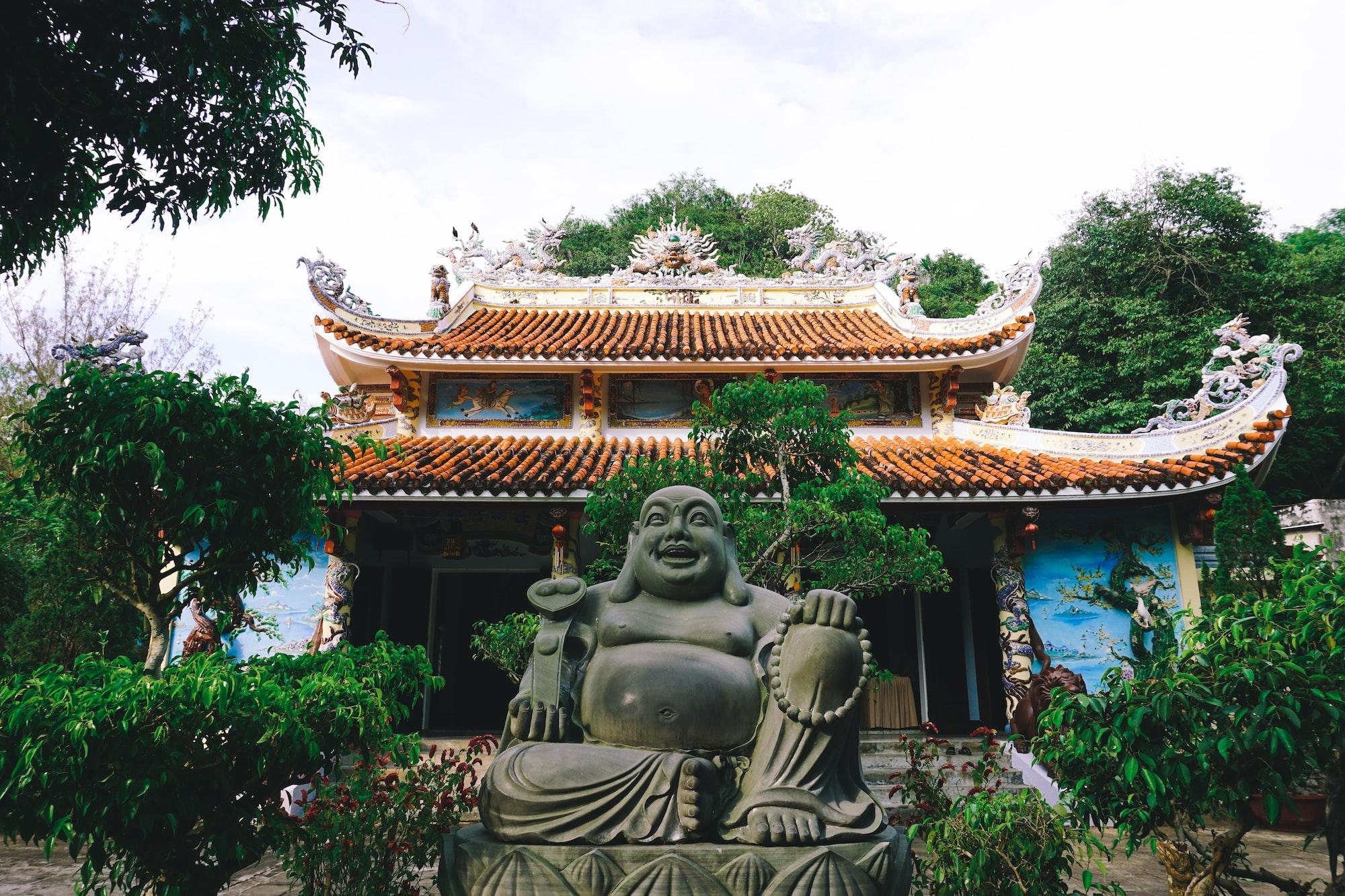 Buddhist Zen Statues