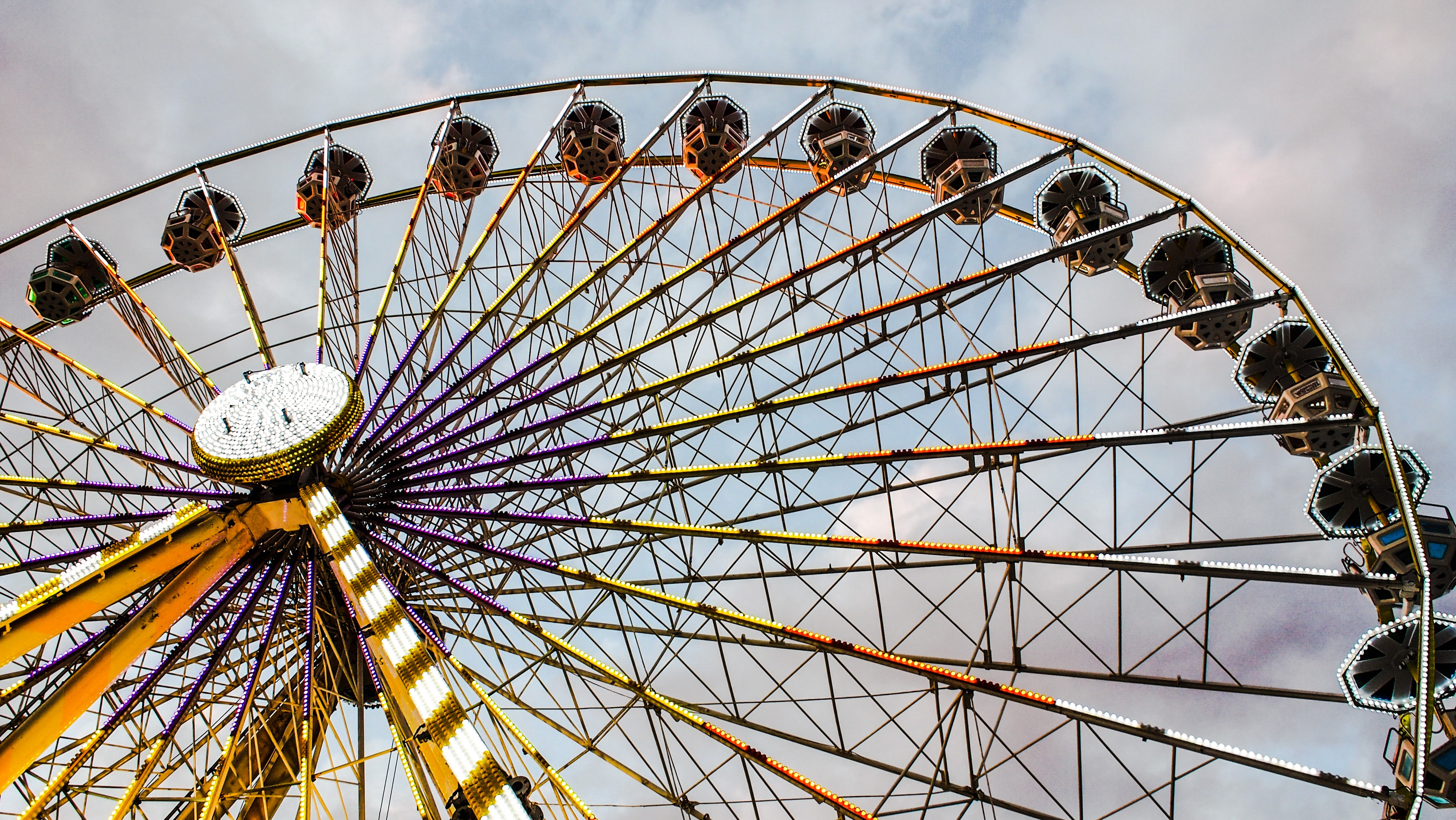 ferris wheel photography