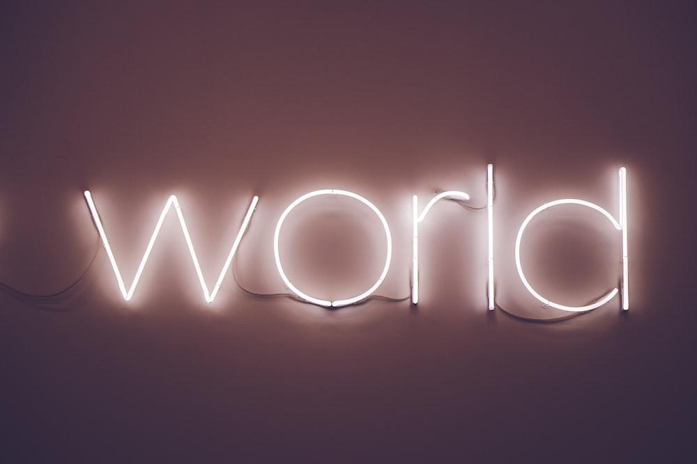 World LED signage