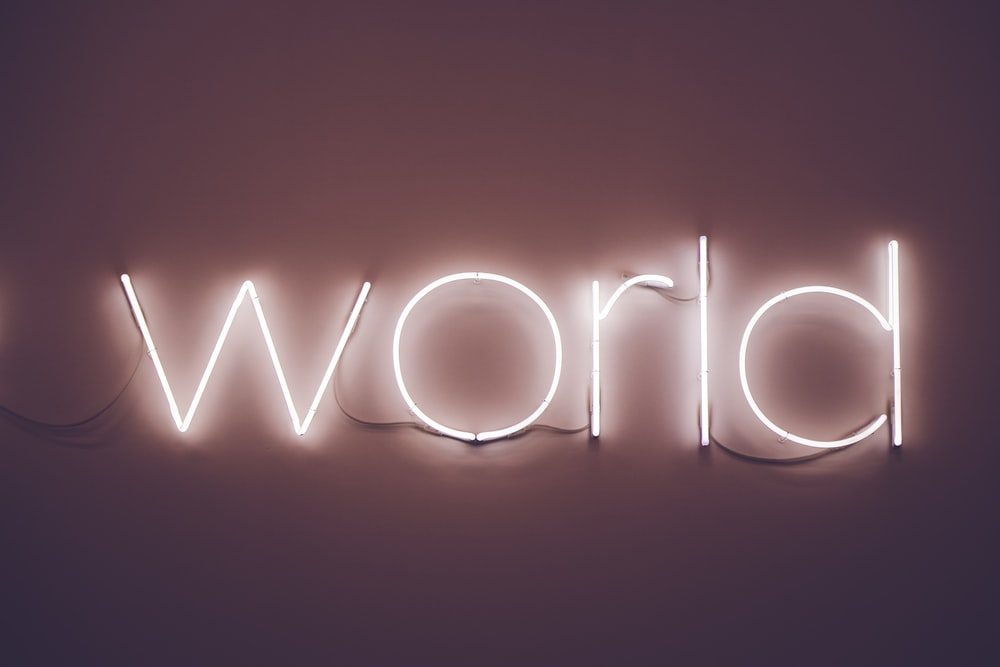 World LED signage