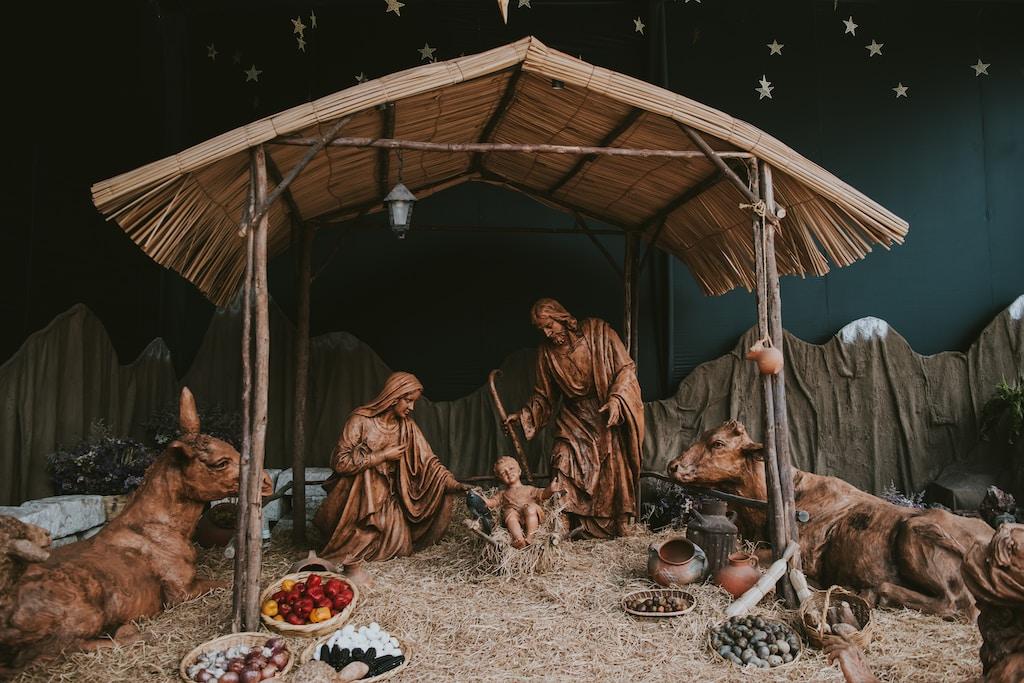 The Nativity decor