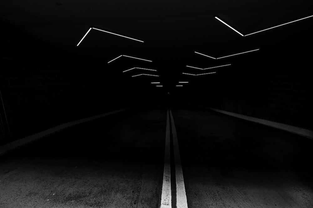 gray concrete top road