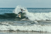 """Surfer in action"""