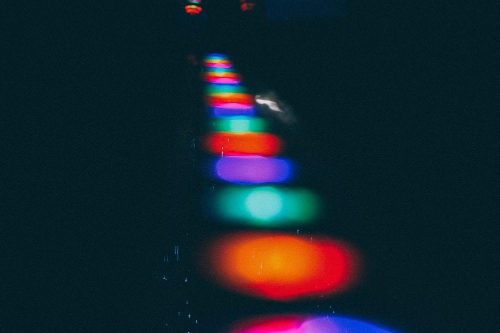 assorted-color lights lined up digital wallpaper