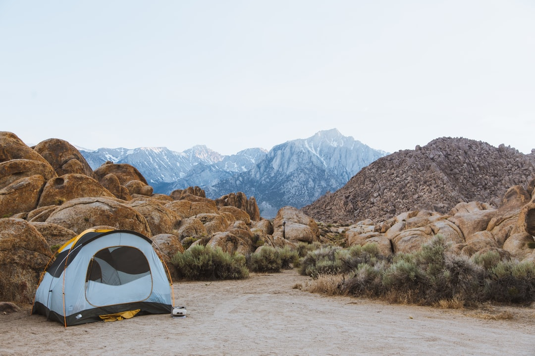 Camping in the Heat of the Alabama Hills