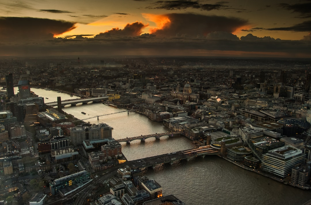 London Cityscape from The Shard
