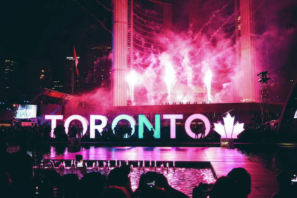 Toronto Stage with lights