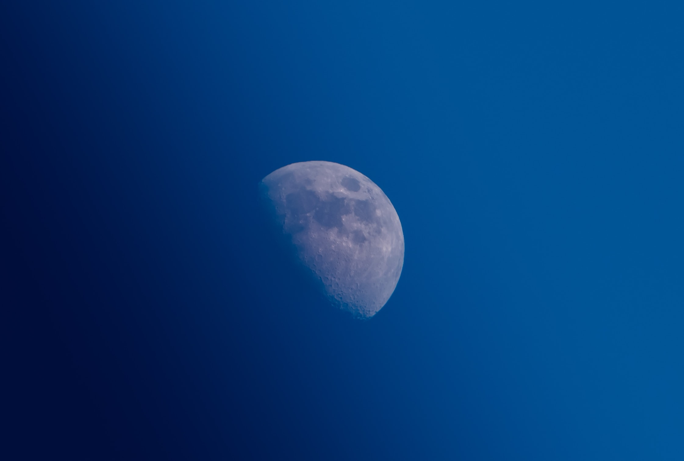 photo of half-moon