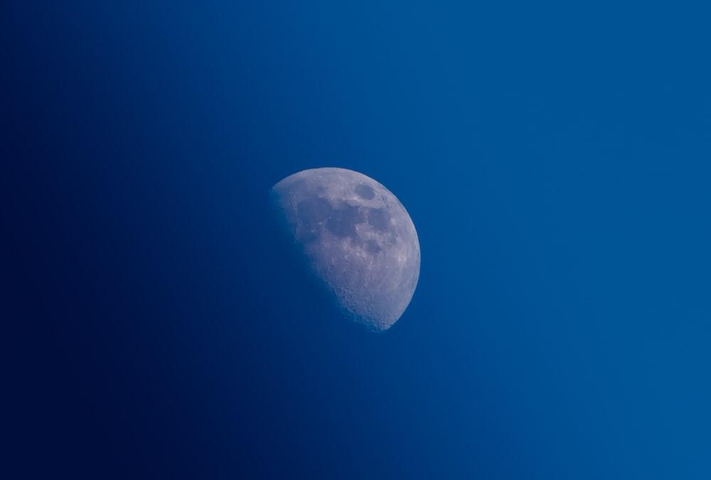 photo of half-moon