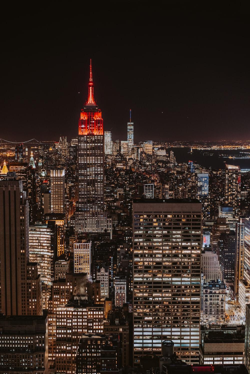 aerial photography of Manhattan, New York