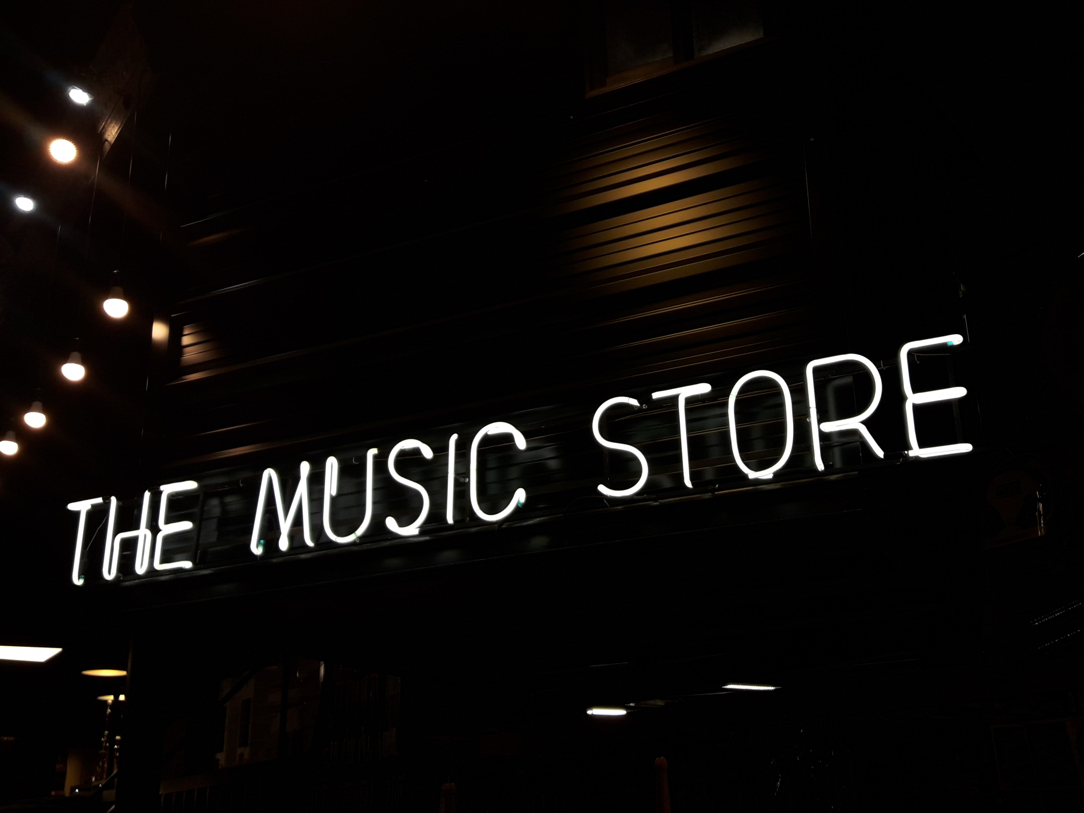 The Music Store facade