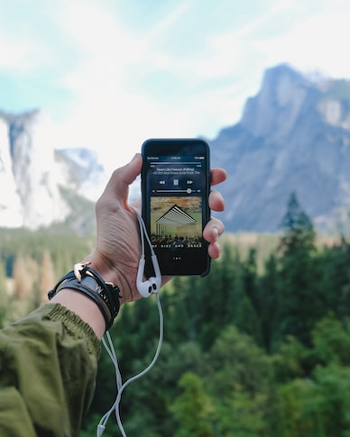 iPhone, music and the Yosemite Valley