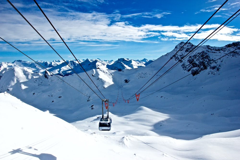 Ski lifts definitely go down sometimes