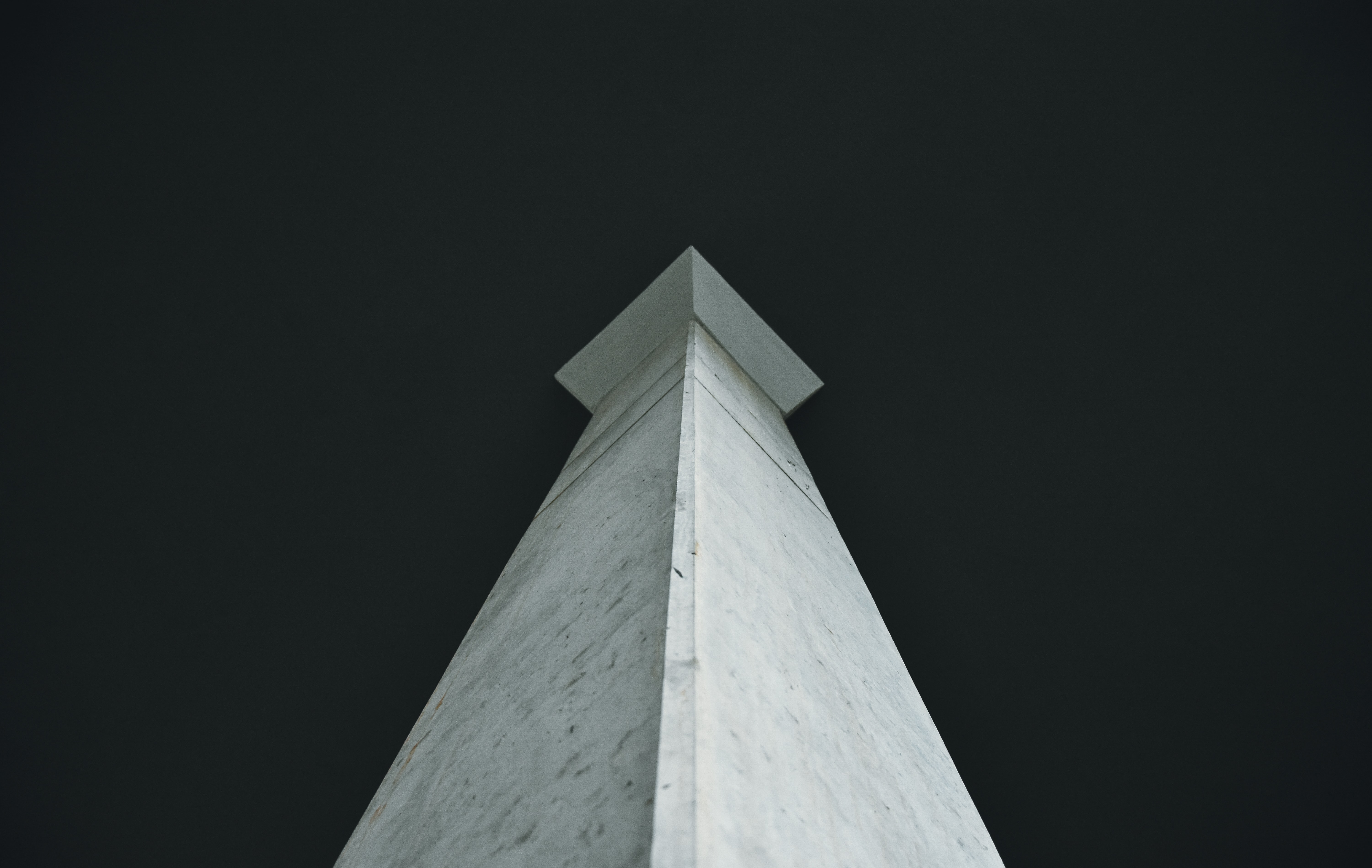 worm's-eye photography of white monument