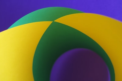 green and yellow color illustration geometry teams background