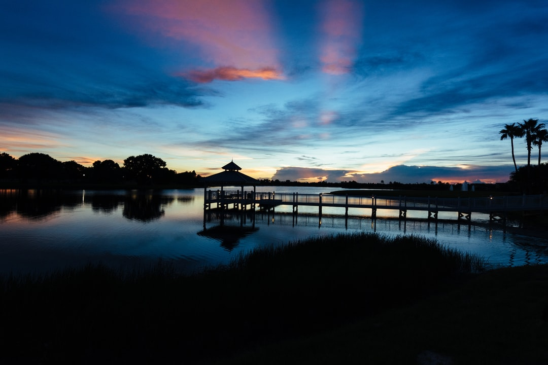 Captured sunset in Tradition, FL.
