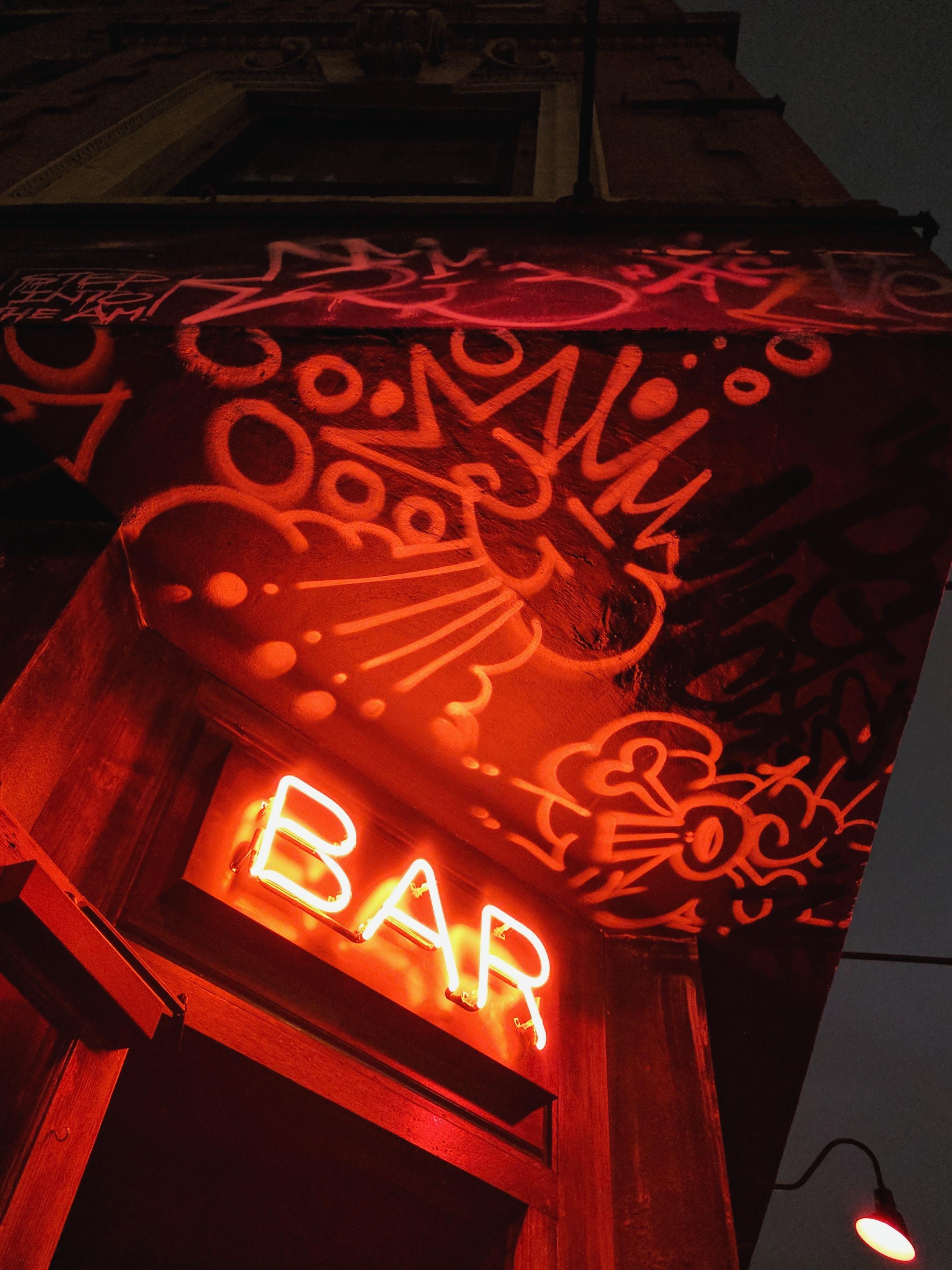 led Bar neon signage