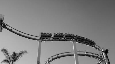 santa monica rollercoaster
