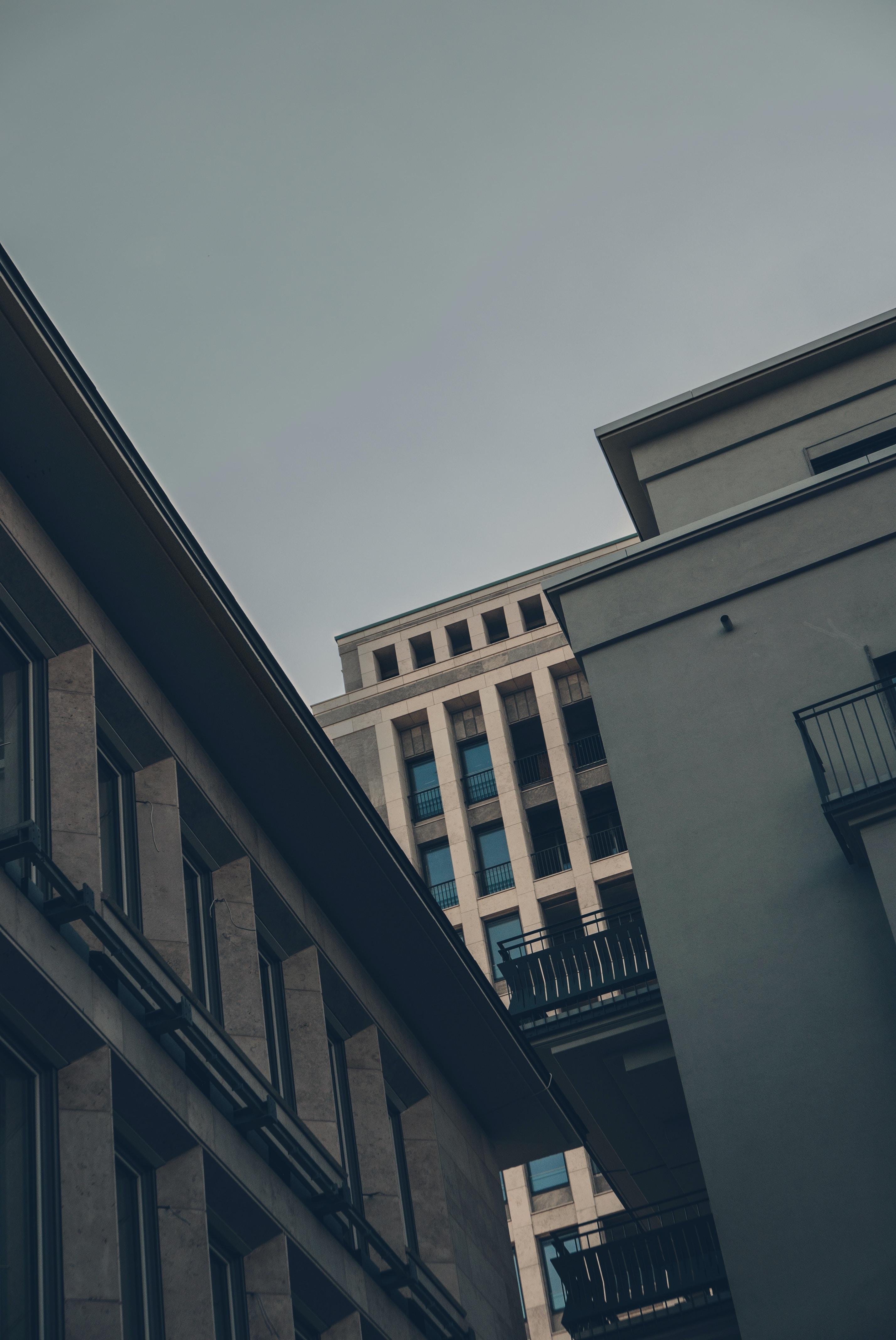 mid-rise concrete building