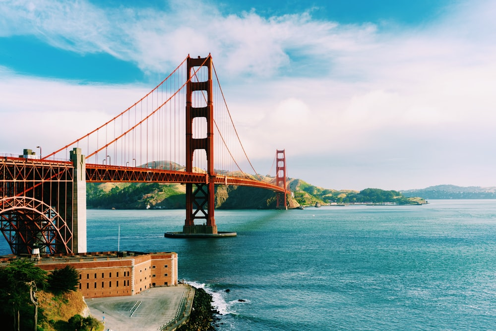 Golden State Bridge, San Francisco