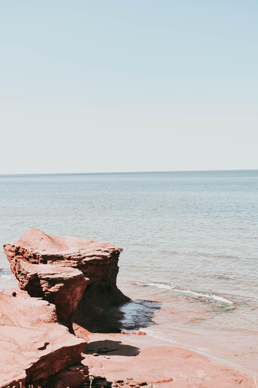 stone near in the sea