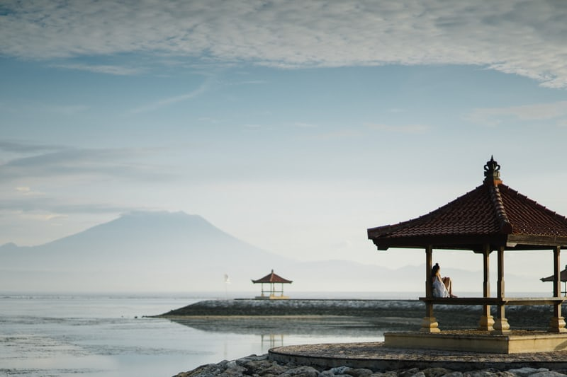 a resort near the beach
