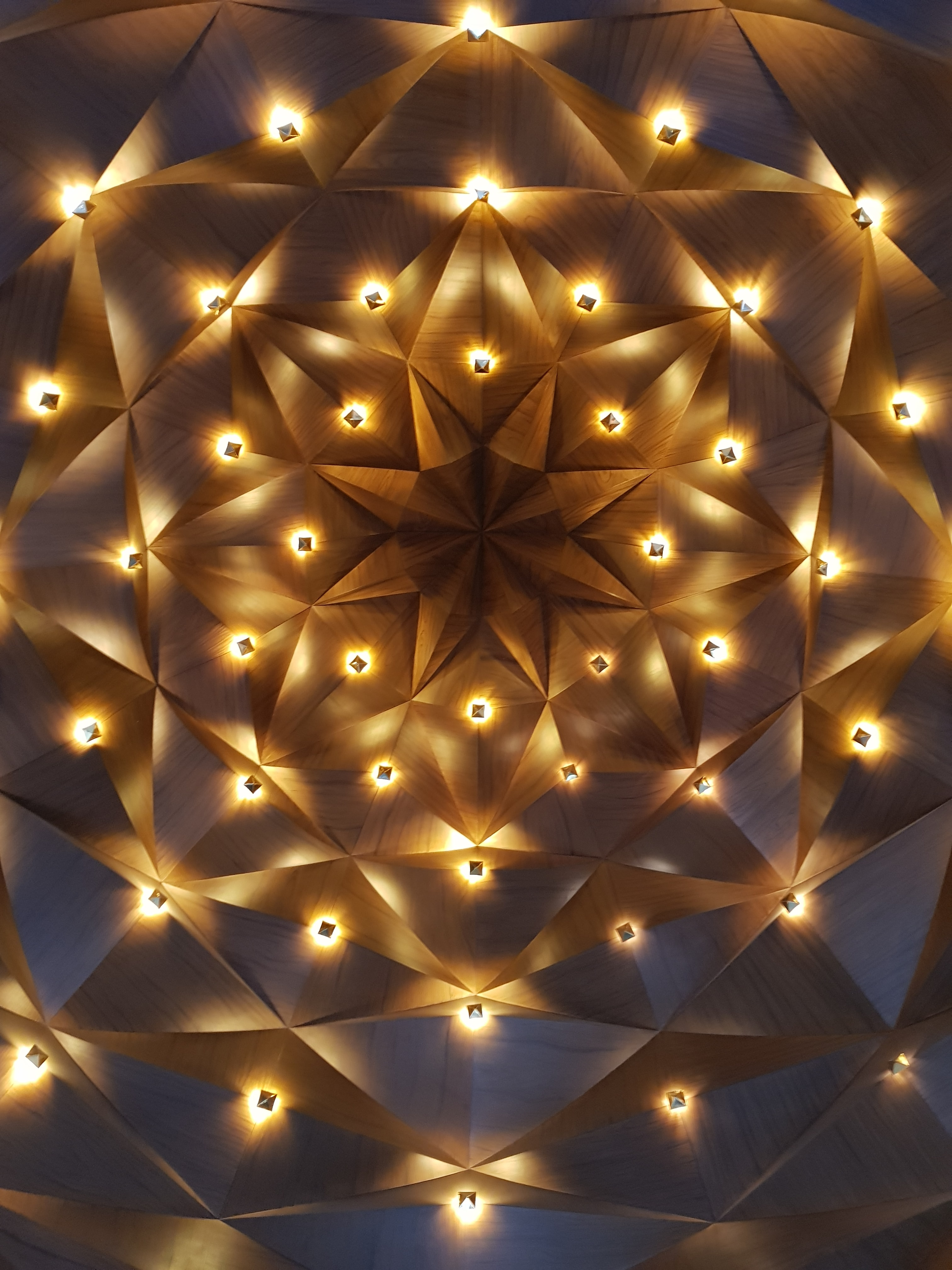 Star Pattern Ceiling And Architecture Hd Photo By Nibras