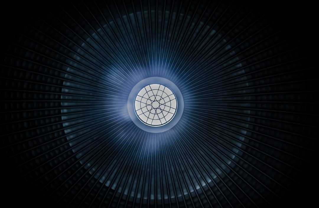 Concentric lines in a dome