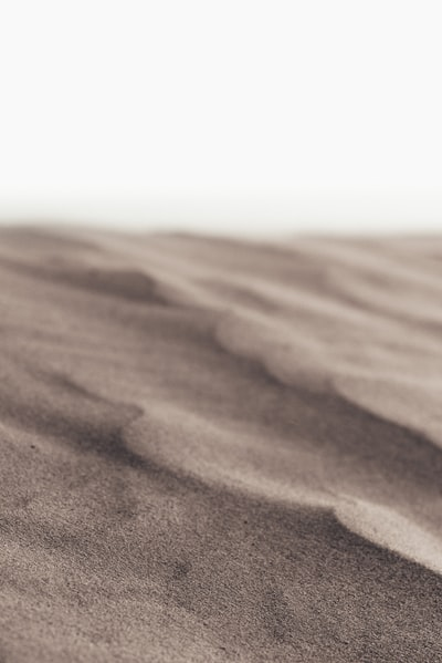 brown sands at daytime