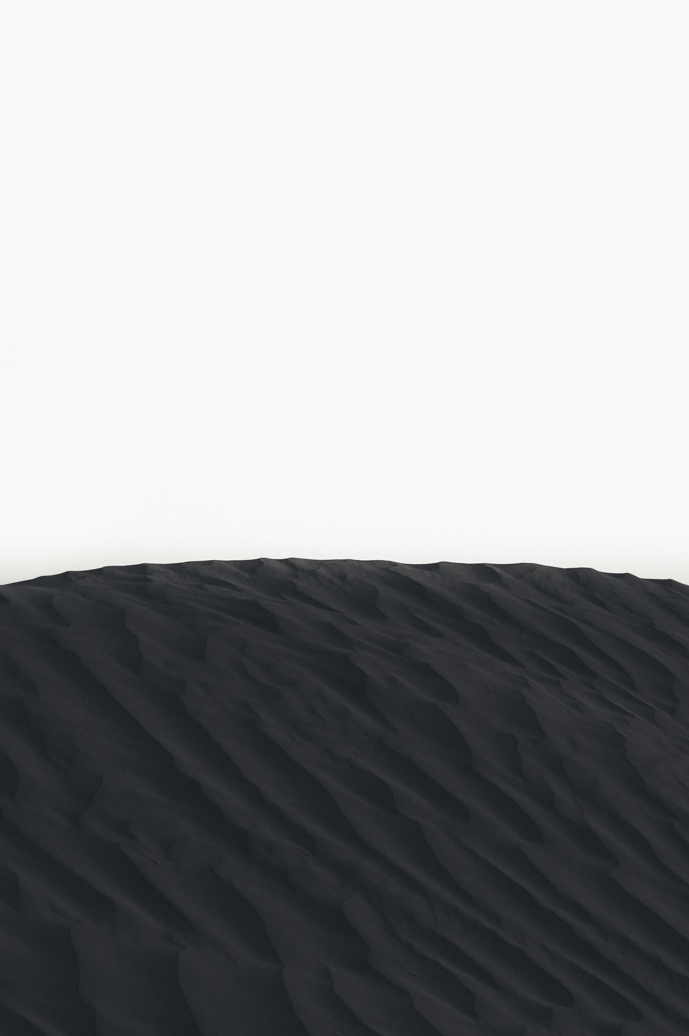 landscape photography of sand dunes