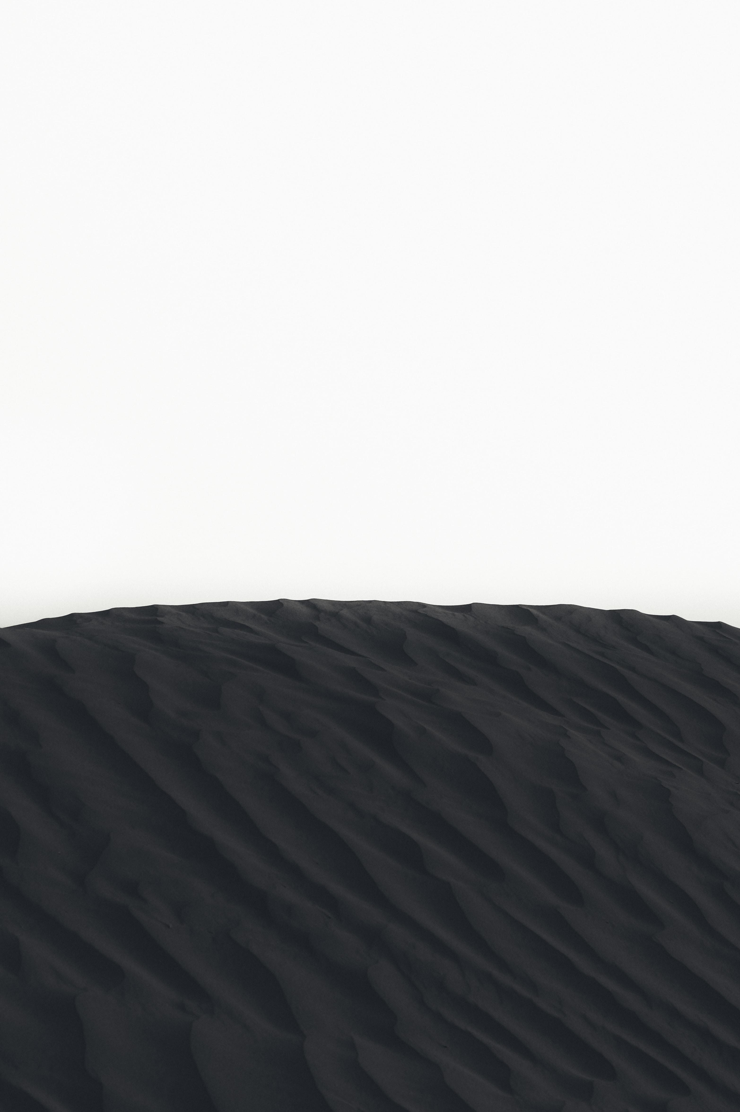 landscape photography of sand dunes