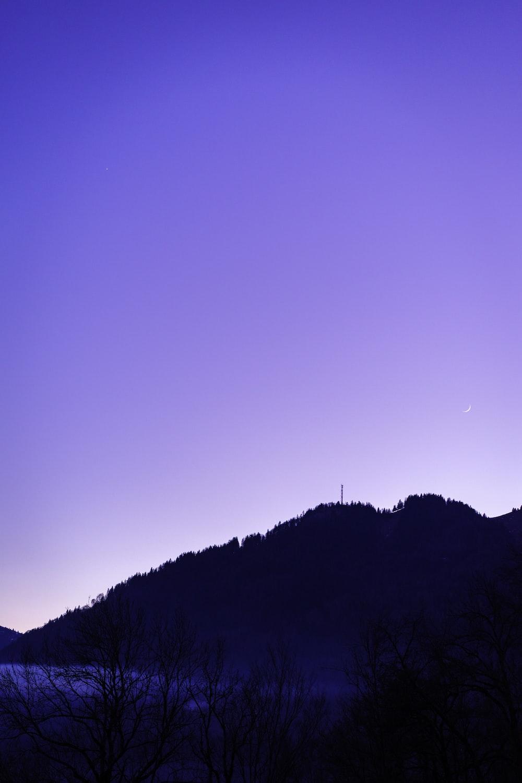 mountain and sunlight