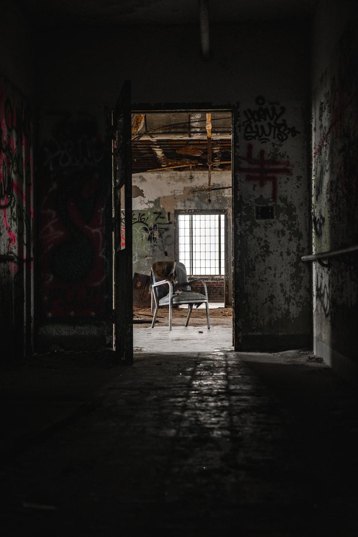 chair inside a house