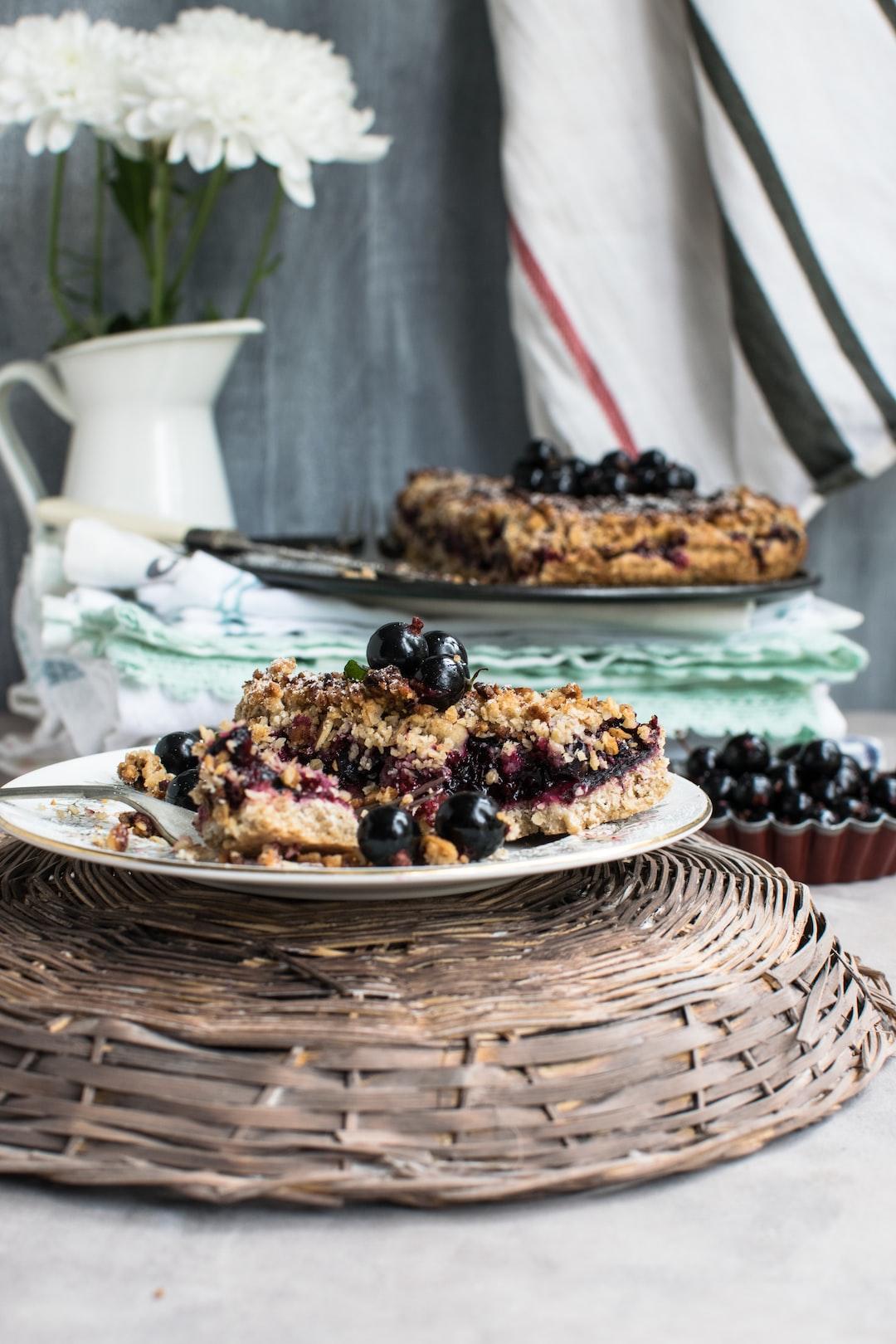 Blackcurant cake