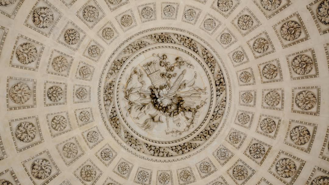 ceiling at Versailles