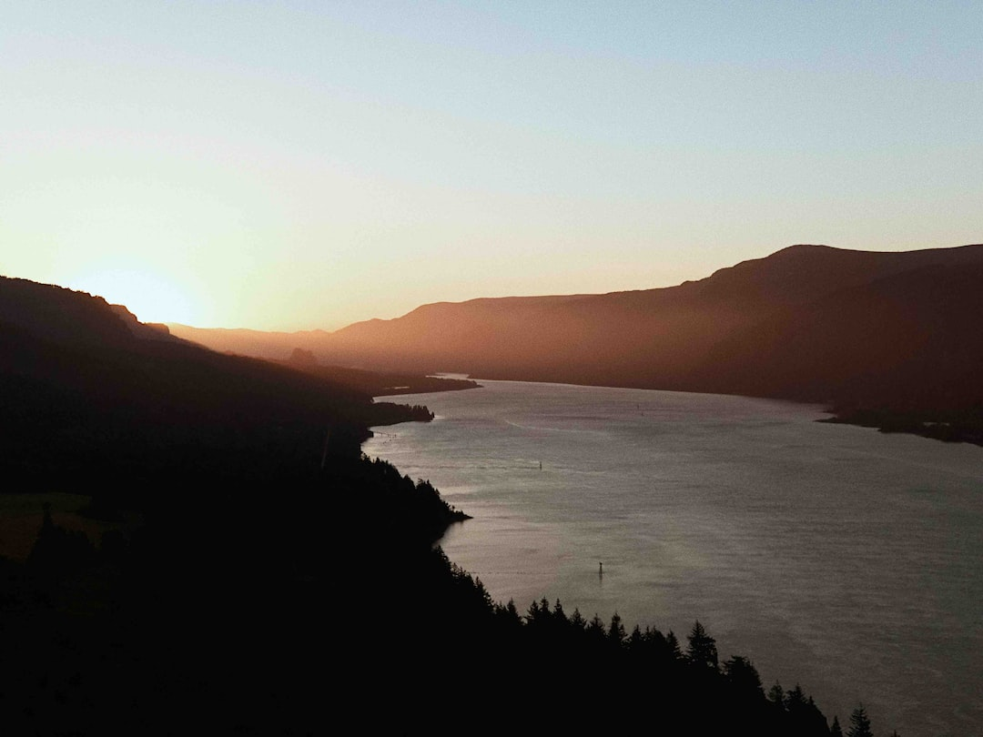 Sunrise at the Columbia River Gorge