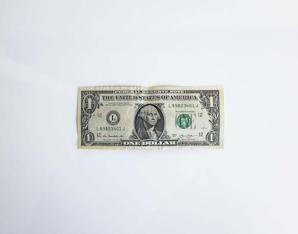 1 U.S. dollar banknote