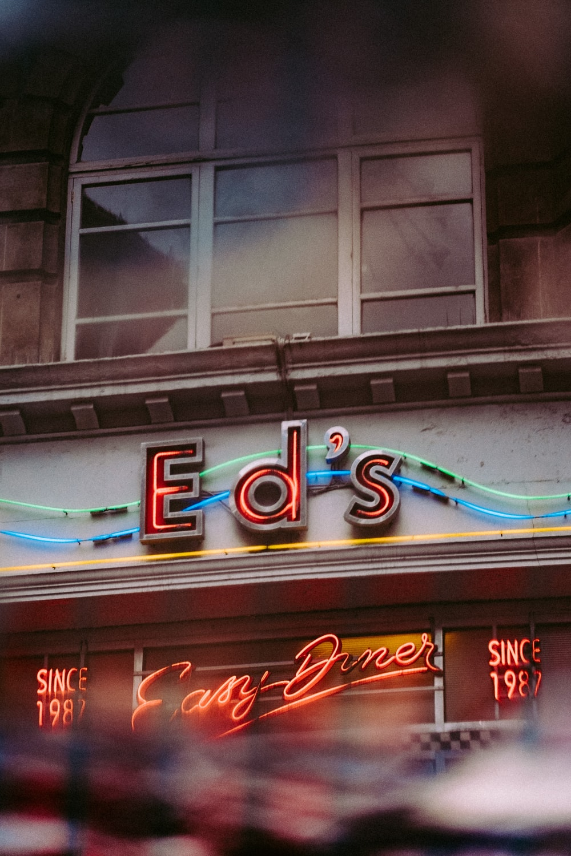 Ed's signage