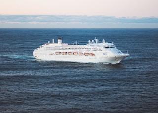 white cruise ship