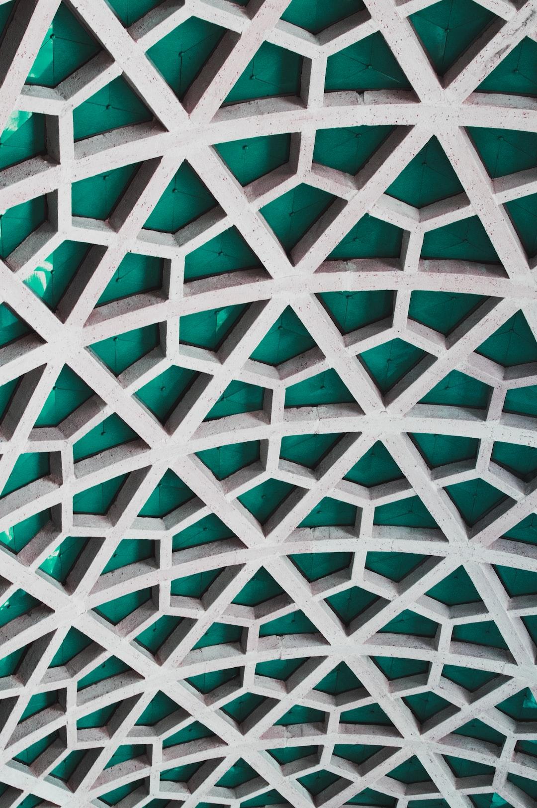 Concrete meshwork