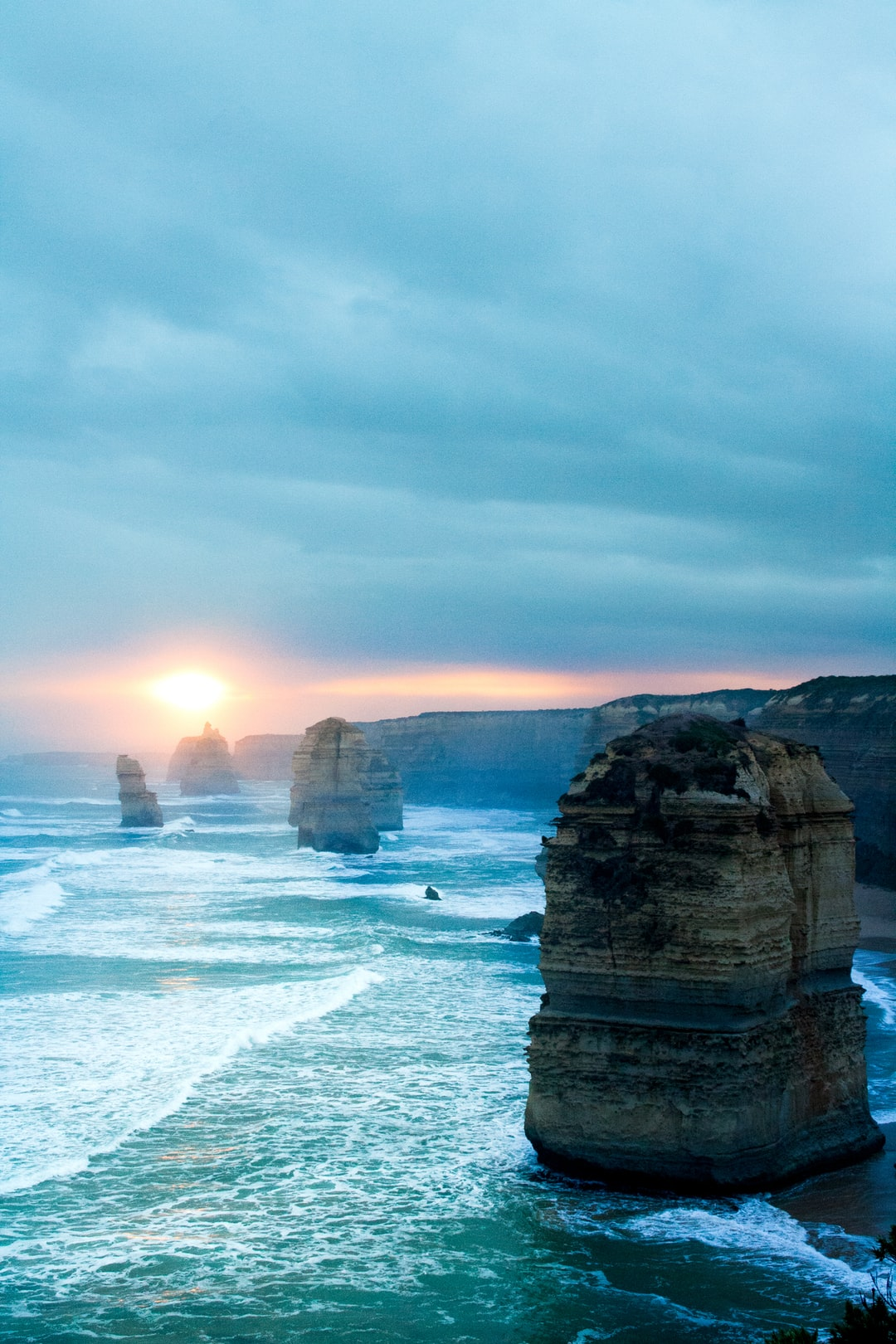 While traveling the Great Ocean Road I had the chance to live one of the most beautiful sunsets in the world