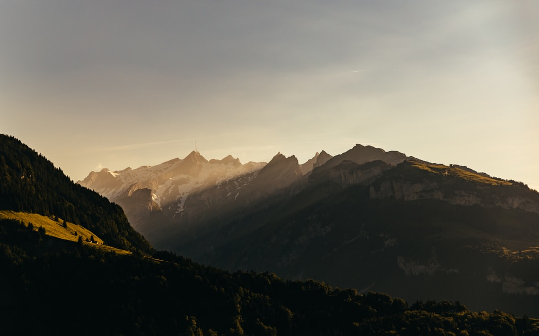 Evening mood in the smaller mountain range of the Swiss Alps: the Alpstein. I was disappointed not to be up there during golden hour, but it was a small comfort to take this shot on the way home.