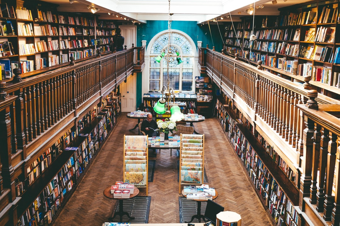 Libraries More Like Bookstores