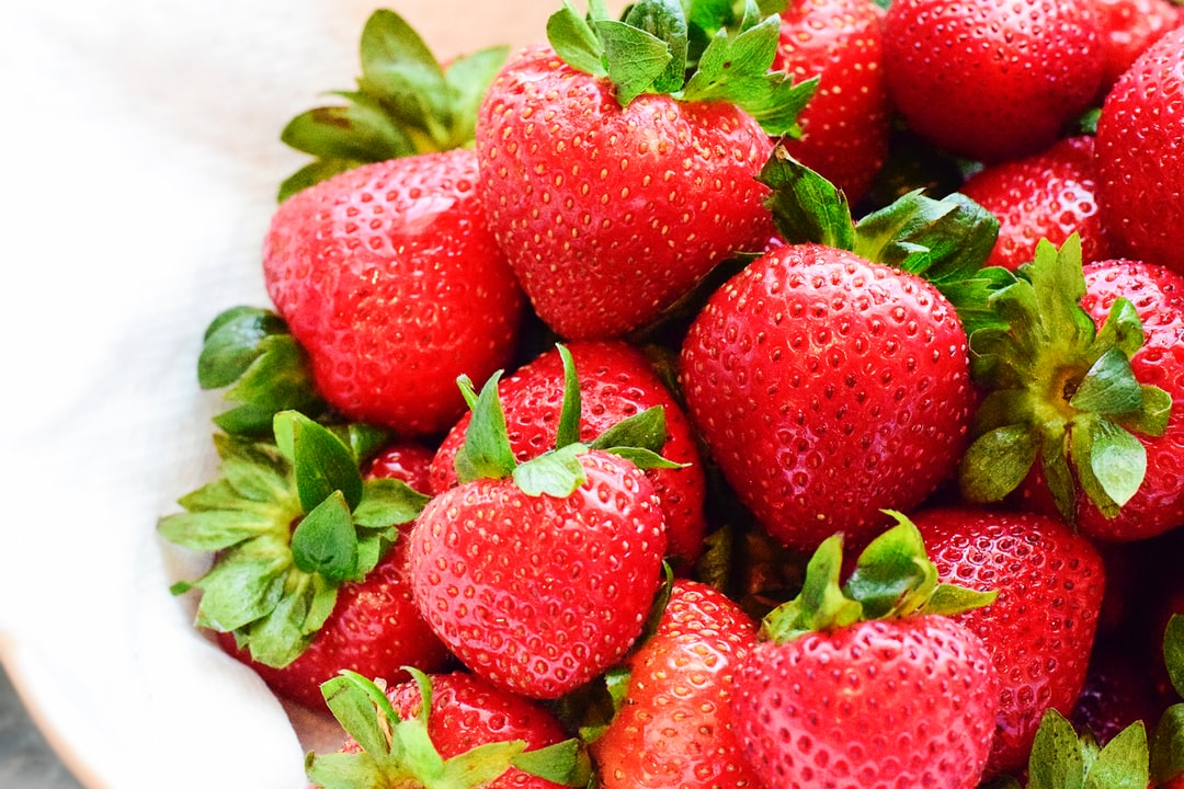 A Bowl of Delicious Strawberries