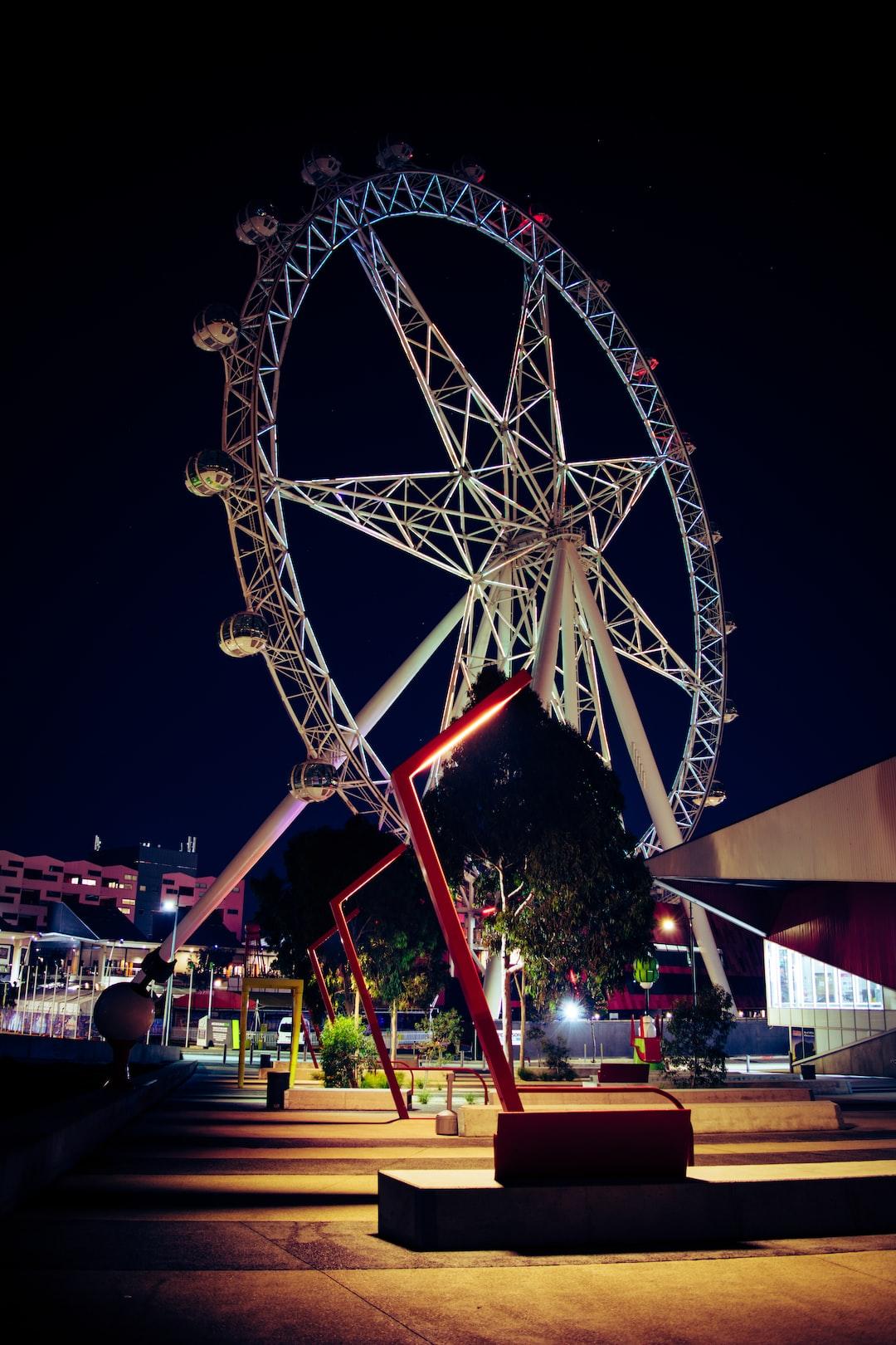 Observation wheel in Melbourne
